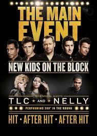 New Kids On The Block Sap Center