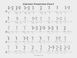 Bari Sax Finger Chart Free Clarinet Fingering Chart By Barry Cockcroft Reed