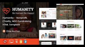 Ngo Templates Humanity Nonprofit Charity NGO Fundraising HTML Template 20