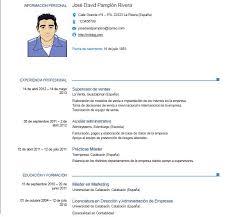 Modelo De Curriculum Vitae En Word Modelo De Curriculum Vitae Europeo Modelo De Curriculum Vitae