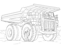 Small Picture Dump Truck coloring page Free Printable Coloring Pages