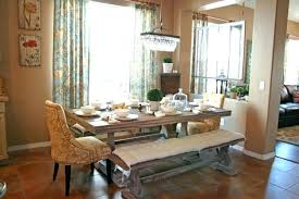 dining table with bench seats. Dining Table With Bench Seats Room Seating Alluring Decoration Eye Catching Best