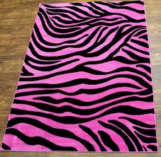pink black and white zebra rug designs