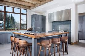 Kitchen Island With Seating On 3 Sides