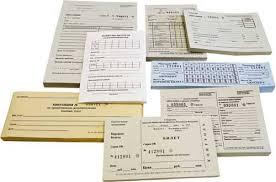 Печать фирменных бланков организации печать бланочной продукции БСО Накладные Фирменные Путевые листы Квитанции и др