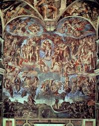 image for sistine chapel the last judgement