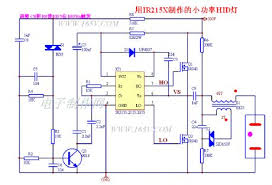 index led and light circuit circuit diagram com low power hid light metal halide lamp ir2151atilde12812953atilde12812955