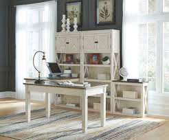 home office with two desks. Bolanburg Home Office With Two Desks E