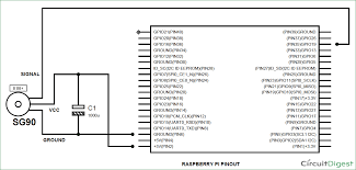 raspberry pi servo motor control circuit diagram