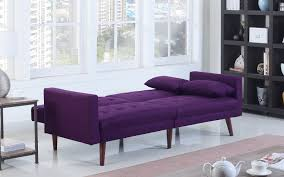 purple furniture. Dom Modern Linen Recliner Futon In Purple Furniture