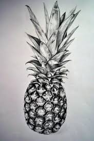 pineapple drawing. pineapple by namiiru drawing