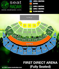 First Direct Arena Seating Chart First Direct Arena Seatradar Com
