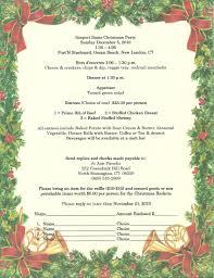 Christmas Program Sample Invitation Letter Christmas Party Ashlee Club Tk