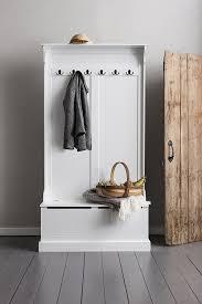 shoe storage hallway furniture. Brittany Hallway Bench And Coat Hook Shoe Storage In White Noa \u0026 Nani: Amazon.co.uk: Kitchen Home Furniture A