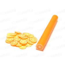 Fimo Zdobení Tyčinka Motiv Ovoce Pomeranč