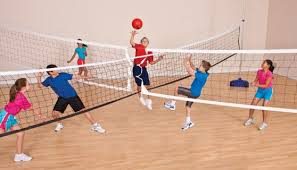 Image result for images of 4 court volleyball