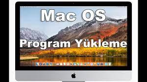 Mac os program yükleme - YouTube