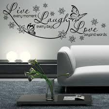 love wall art beautiful live laugh love wall decal wall art sticker lounge room e