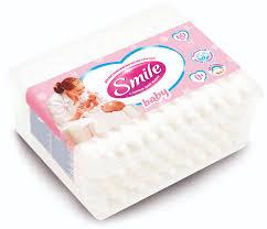 <b>Палочки ватные Smile Baby</b> с ограничителем, 60шт. - купить в ...