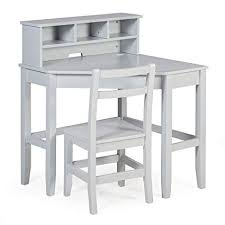 White gray solid wood office Corner Image Unavailable The Classy Home Amazoncom Juvenile Kids Solid Wood Compact Corner Storage Desk