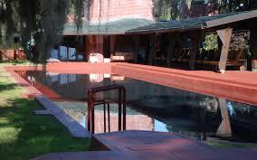Frank Lloyd Wright Auldbrass by South Carolina Pool Designer