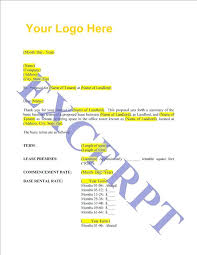 Letter Of Intent Real Estate Templates Free Word Best Ideas Of Letter Intent Real Estate Lease ...
