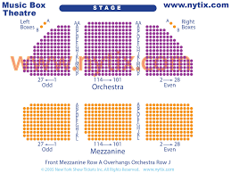 Music Box Theatre New York Seating Chart Music Box Theatre On Broadway In Nyc