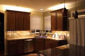 kitchen cabinet lighting led. contemporary kitchen decoration ideas with cabinet counter led lighting strip cream ceiling color painted led c
