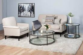 modern round glass coffee tables for