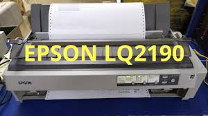 Designed with the dot matr. Epson Lq 2190 Dot Matrix Printer Head Cleaning Youtube