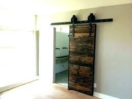 sliding glass door privacy ideas bathroom barn p