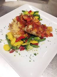 Grilled Mahi with Mango Salsa and ...