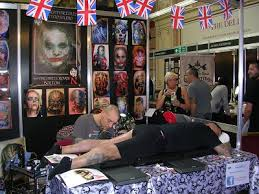 the great british tattoo show artlyst many of the art forms expressed upon it or into it have the quality of stained glass tattoos transcend our material differences and fuse