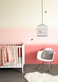colorhouse pink ombre nursery diy paint project girl s nursery idea