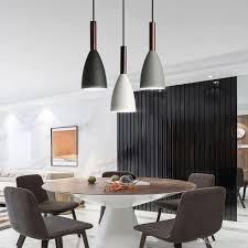 Großhandel Pendelleuchten Nordischen Stil Led Pendelleuchte Esszimmer Pendelleuchte Holz Lampe Für Hauptbeleuchtung Moderne Hängelampen Von Honpus