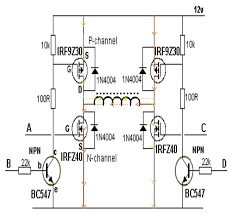 schematic h the wiring diagram h bridge schematic transistor vidim wiring diagram schematic