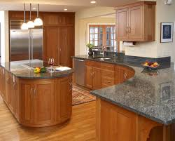 Cream Gloss Kitchen Tile Wooden Kitchen Countertop Finishes Brown Wooden Cabinets Mahogany