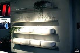 lighted floating shelves corner shelf with light floating shelves lights underneath and speakers living room practical trendy open shelving floating shelves