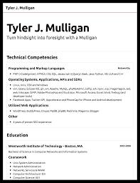 create a resume resume cv 5