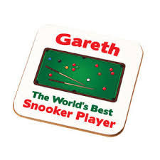 image is loading personalised worlds best snooker player coaster gift dads