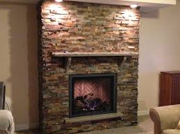Interesting Stone Gas Fireplace Ideas Photo Inspiration