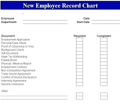 Employee File Checklist New Employee Orientation Checklist Template Word And Excel