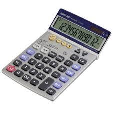 sharp calculator. sharp el-792 adjustable tilt display calculator sharp