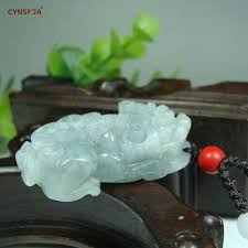 <b>CYNSFJA New Real</b> Certified Natural Hetian Jasper 925 Sterling ...