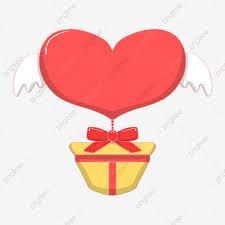 Coeur Rouge Les Ailes Ange Saint Valentin, Les Ailes, Dessiné ...