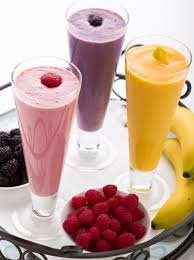 Smoothie Recipe Chart Healthy Protein Smoothies