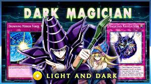 Light Magician Yugioh New Dark Magician Light And Dark Yu Gi Oh Duel Links