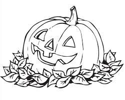 Cute Halloween Coloring Pages For Kids At Getdrawingscom Free For
