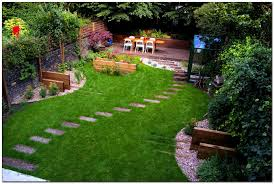 garden landscaping ideas. Awesome Small Backyard Landscape Ideas Garden Landscaping For With Stairway Amazing Of Gardening And