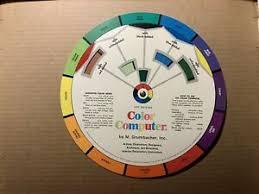 Details About M Grumbacher Color Computer No B 420 1973 2nd Edition Vintage Color Wheel